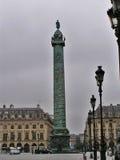 Columna del lugar Vendome fotografía de archivo libre de regalías