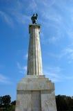 Columna del vencedor, Belgrado Imagen de archivo libre de regalías