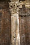 Columna en Roma, Italia. Imagenes de archivo