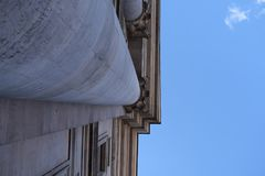 Columna en un edificio histórico Imagen de archivo