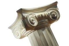 Columna griega Foto de archivo libre de regalías