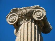 Columna griega Imágenes de archivo libres de regalías