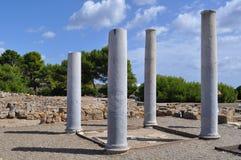Columna hermosa del mar Fotos de archivo libres de regalías