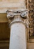 Columna iónica Imagenes de archivo