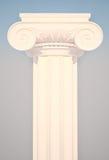 Columna iónica griega Fotos de archivo