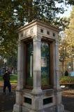 Columna meteorológica en Zagreb Imágenes de archivo libres de regalías