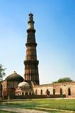 Columna musulmán la India nuevo Delh Imagenes de archivo