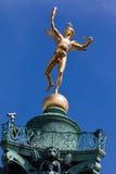 Columna París de julio Foto de archivo