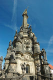 Columna (pestilente) de la trinidad santa en Olomouc Fotografía de archivo libre de regalías