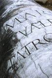 Columna romana Imágenes de archivo libres de regalías