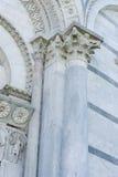 Columna y arco Fotografía de archivo