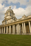 Columnade of Royal Naval College Royalty Free Stock Photography
