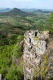 Columnar basalt Stock Image