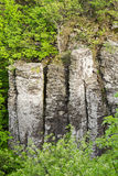 Columnar basalt Stock Photos