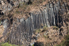 Columnar joints Stock Photos