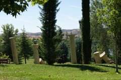 Columnas Stock Foto