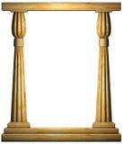 Columnas antiguas ilustración del vector