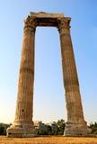 Columnas antiguas Imágenes de archivo libres de regalías