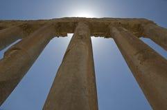 Columnas antiguas Foto de archivo libre de regalías