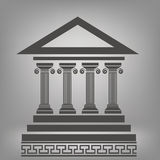 Columnas antiguas Fotografía de archivo