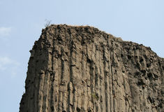 Columnas basálticas Imagen de archivo libre de regalías