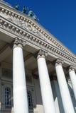 Columnas blancas enormes Foto de archivo libre de regalías