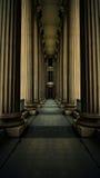 Columnas clásicas Fotografía de archivo