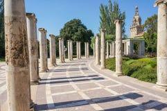 Columnas clásicas Imágenes de archivo libres de regalías