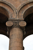 Columnas con los capitales. Ereván Foto de archivo