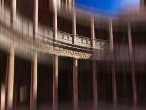 Columnas de Carlos V Imágenes de archivo libres de regalías