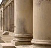 Columnas de columnas Imagen de archivo libre de regalías