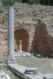 Columnas de Grecia antigua Fotos de archivo libres de regalías