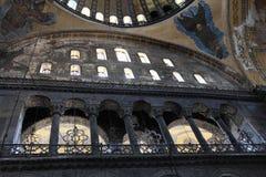 Columnas de Hagia Sophia fotos de archivo