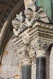 Columnas de la catedral Fotografía de archivo libre de regalías