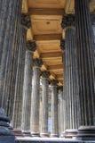 Columnas de la iglesia Fotografía de archivo