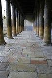 Columnas de la iglesia de la natividad, bethl Foto de archivo libre de regalías