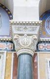 Columnas de la iglesia vieja Fotografía de archivo libre de regalías
