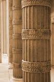 Columnas de la sepia fotos de archivo libres de regalías