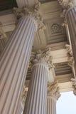 Columnas de los Corinthians en los archivos nacionales Imagen de archivo
