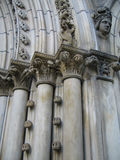 Columnas de lujo Imagen de archivo libre de regalías