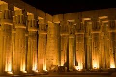 Columnas de Luxor Foto de archivo libre de regalías