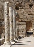 columnas de mármol Fotos de archivo