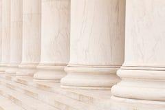 Columnas de mármol Imagen de archivo libre de regalías