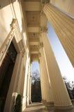 Columnas de museum2 Imagen de archivo