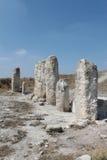Columnas de piedra paganas Fotos de archivo libres de regalías