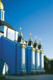 Columnas de San Miguel de oro Imagen de archivo libre de regalías
