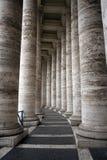 Columnas de San Pedro Fotos de archivo libres de regalías