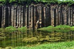 Columnas del basalto Foto de archivo libre de regalías