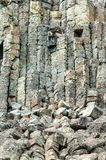 Columnas del basalto de los acantilados de Sheepeater imagen de archivo libre de regalías