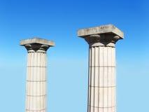 Columnas del cielo imágenes de archivo libres de regalías